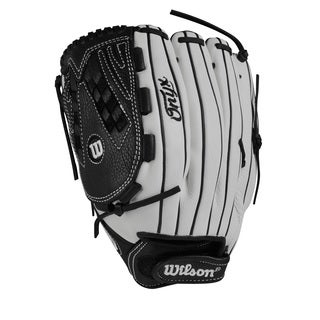 Wilson Onyx Fastpitch Grey Leather 12.5-inch Pitcher/Outfielder Softball Glove