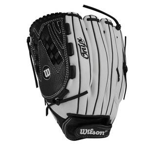 Wilson Onyx Fastpitch Grey Leather 12.5-inch Pitcher/Outfielder Softball Glove