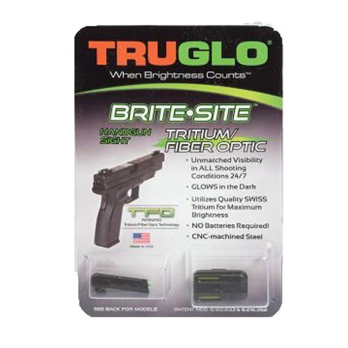 TruGlo TFO Ruger LC Set RS Yellow Handgun Sight