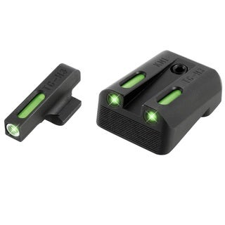 TruGlo TFX Kimber Set Black Handgun Sight