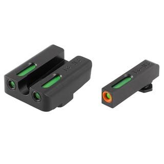 TruGlo TFX Glock Set Pro ORN Black Steel Handgun Sight