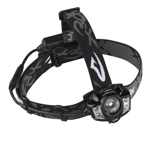 Princeton Tec Apex Black Plastic Rechargeable Headlamp