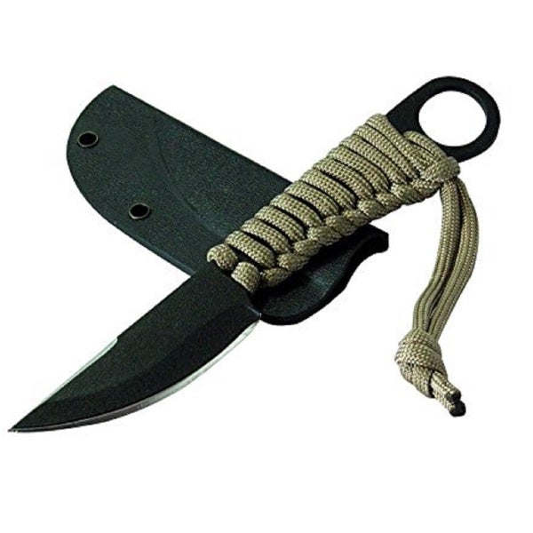 Condor Tool & Knife Black Steel 2.75-inch Blade 6-3/16-inch Overall Kickback Knife