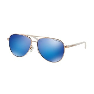 Michael Kors Women MK5007 HVAR 104525 Pink Metal Cateye Sunglasses