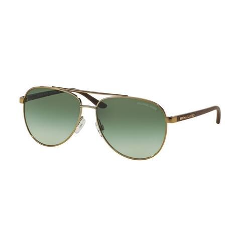 Michael Kors Women MK5007 HVAR 10432L Gold Metal Cateye Sunglasses
