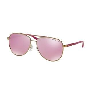 Michael Kors Women MK5007 HVAR 10397V Gold Metal Cateye Sunglasses