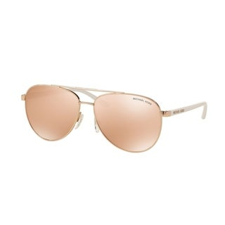Michael Kors Women MK5007 HVAR 1080R1 Pink Metal Cateye Sunglasses
