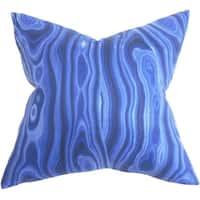 Zoia Geometric Euro Sham Blue
