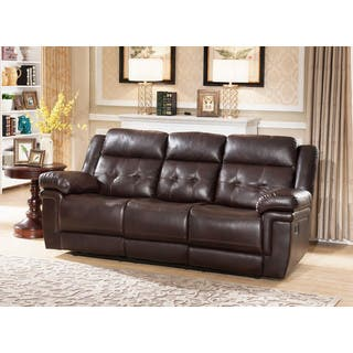 Leather Living Room Furniture For Less | Overstock.com