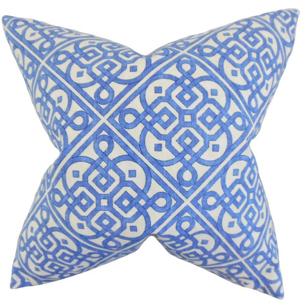 Auden Geometric Euro Sham Royal