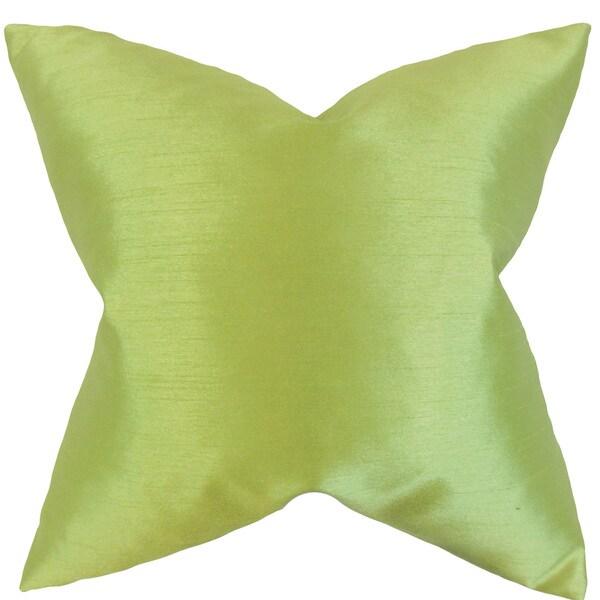 Klee Solid Euro Sham Apple Green