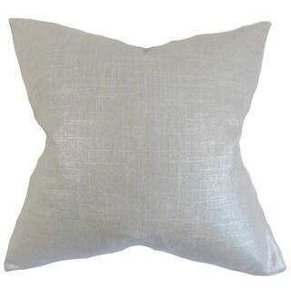 Berquist Solid Euro Sham Platinum