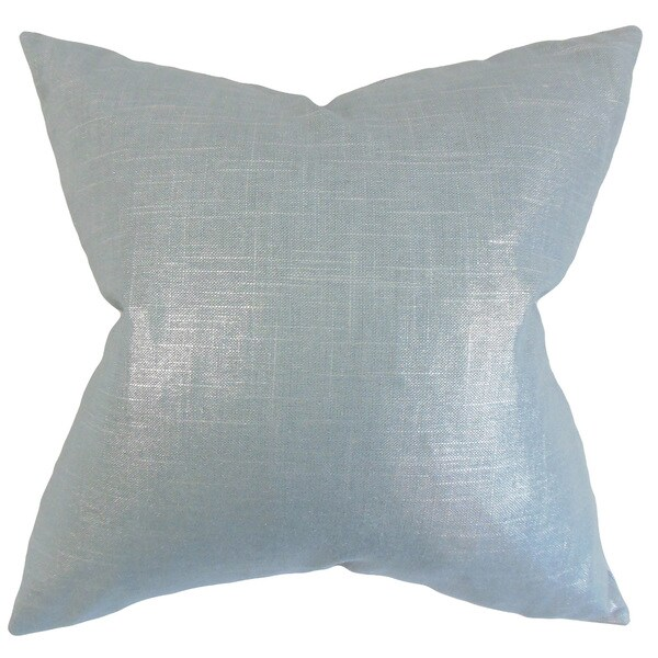 Florin Solid Euro Sham Light Blue