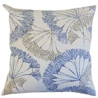 Grove Floral Euro Sham Blue