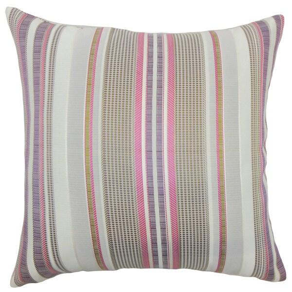 Fritha Stripes Euro Sham Lilac