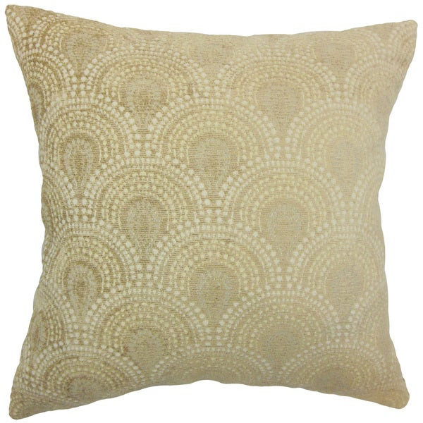Yaru Geometric Euro Sham Natural