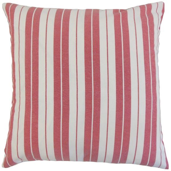 Henley Stripes Euro Sham Red