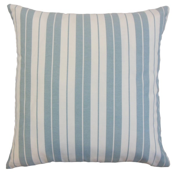 Henley Stripes Euro Sham Sea