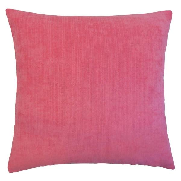 Rafiya Outdoor Euro Sham Pink