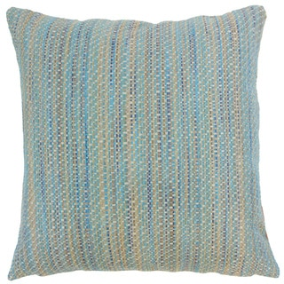 Raith Stripes Euro Sham Lagoon
