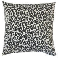 Olesia Animal Print Euro Sham Black