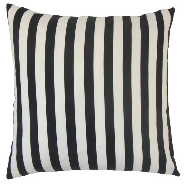 Tameron Stripes Euro Sham Black
