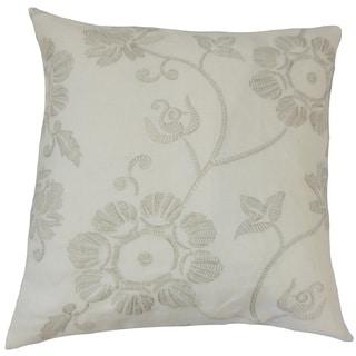 Kaywar Floral Euro Sham Linen