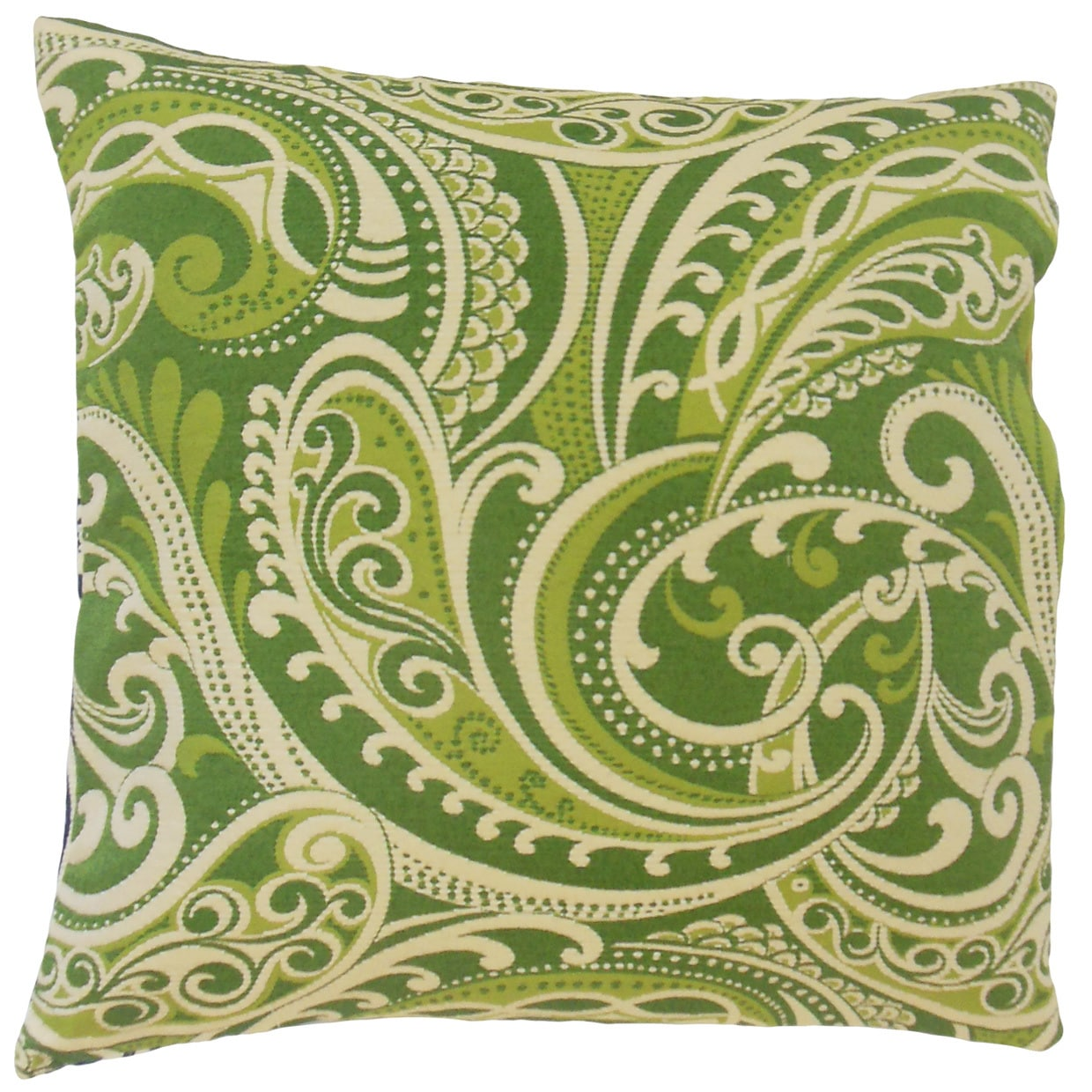 The Pillow Collection Natashaly Damask Euro Sham Kelly (Q...