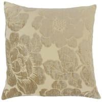 Sarafina Floral Euro Sham Linen
