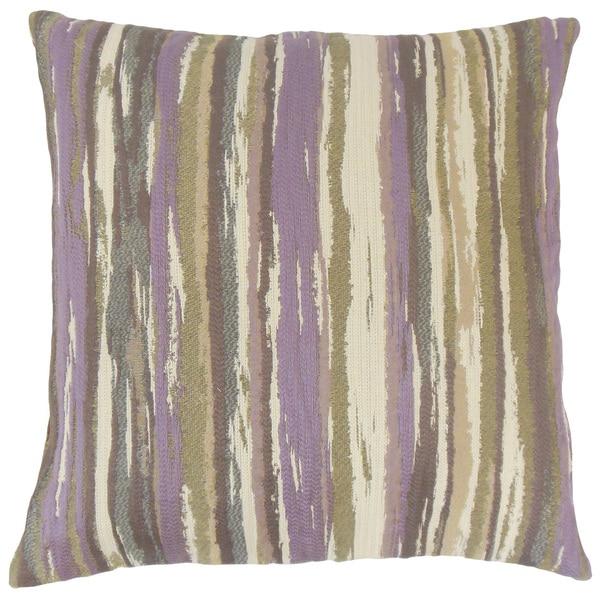 Uchenna Stripes Euro Sham Lavender