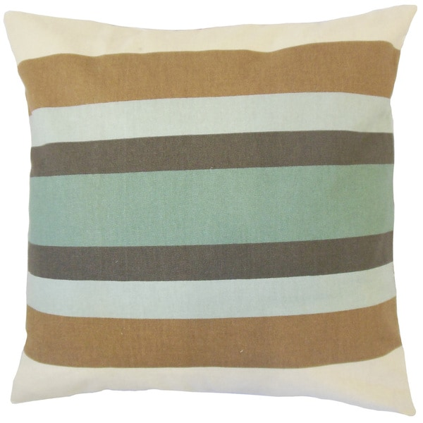 Gainell Stripes Euro Sham Truffle