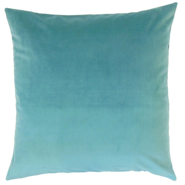 Nizar Solid Euro Sham Turquoise