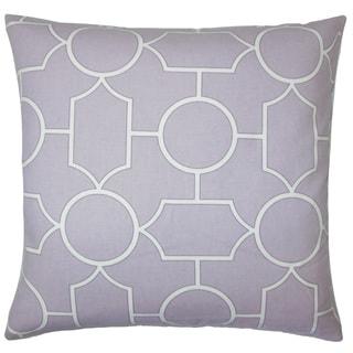 Samoset Geometric Euro Sham Lavender