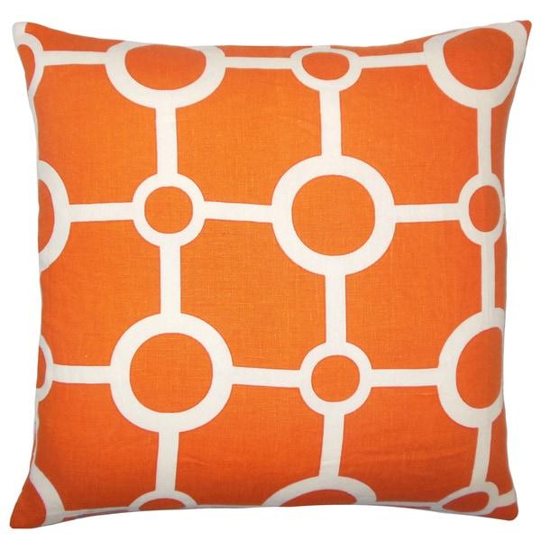 Ugra Geometric Euro Sham Orange