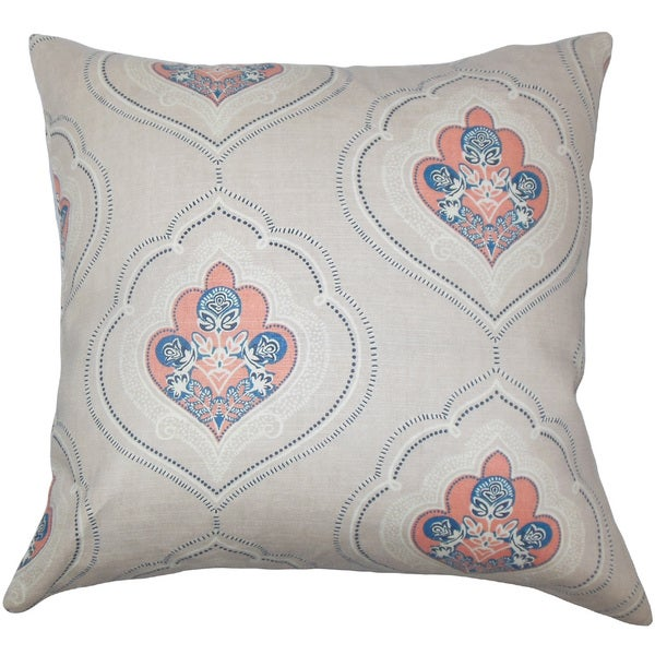 Aafje Floral Euro Sham Coral