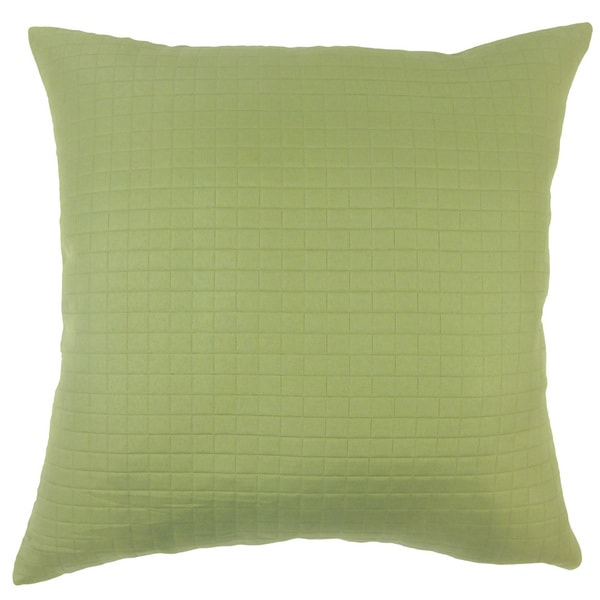 Faylinn Solid Euro Sham Green