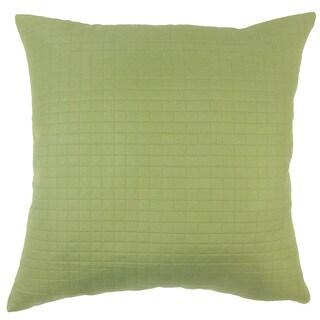 Faylinn Solid Euro Sham Green