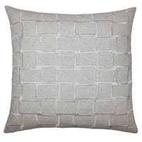 Haig Geometric Euro Sham Natural