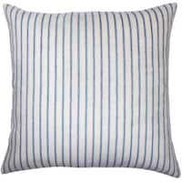 Maaike Striped Euro Sham Blue