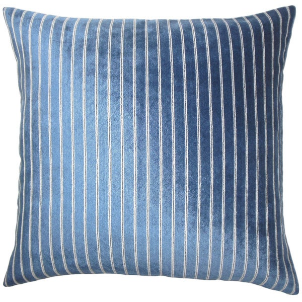 Maaike Striped Euro Sham Navy