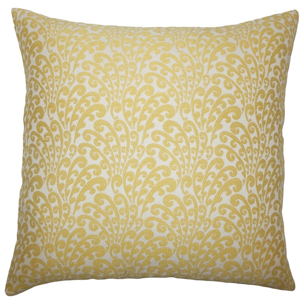 Ilkay Floral Euro Sham Buttercup