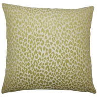 Banagher Animal Print Euro Sham Kiwi