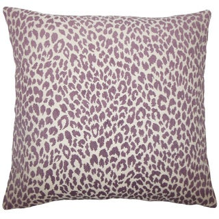 Banagher Animal Print Euro Sham Orchid
