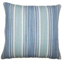 Ferlin Striped Euro Sham Turquoise