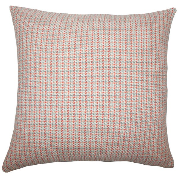 Paley Plaid Euro Sham Apricot