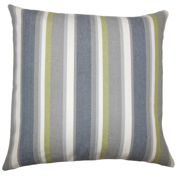 Reiki Striped Euro Sham Metal