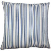 Tafari Striped Euro Sham Blue