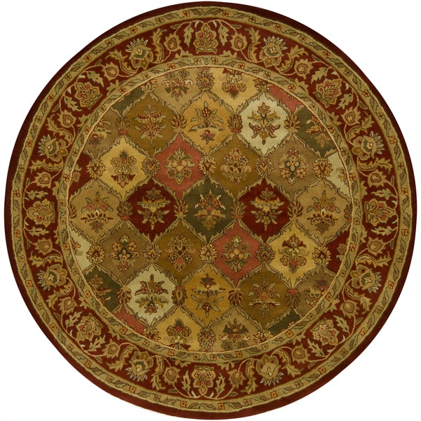Shop Artist S Loom Hand Tufted Traditional Floral Pattern