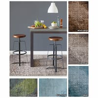 "Artist's Loom Hand-Tufted Contemporary Abstract Pattern Rug (7'9""x10'6"")"