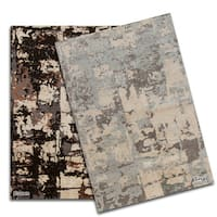Artist's Loom Hand-Tufted Contemporary Abstract Pattern Rug (9'x13')
